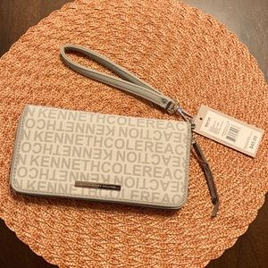 Kenneth Cole Reaction Clutch Wallet Wristlet NWT